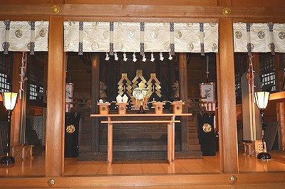 豊鹿島神社拝殿