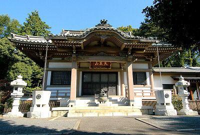 第二尋常小学校が置かれた雲性寺  昭和56年(1981)再建