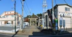 豊鹿島神社参道周辺800