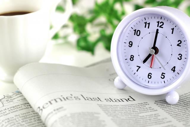 朝7時:会社前10分余裕ができたら