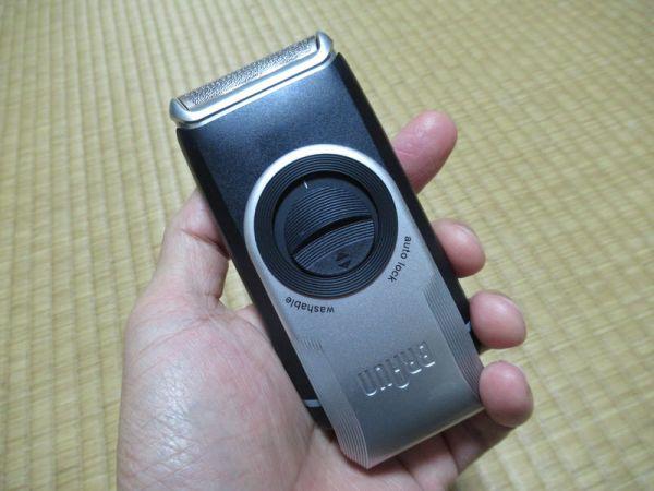 動くようになる:モバイルシェーバーブラウンm-90