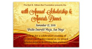 Higgs Provides Scholarship to Student at Earl B. Gilliam Awards