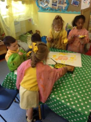 Reception paint Sunflowers by Van Gogh - June 2015[13]