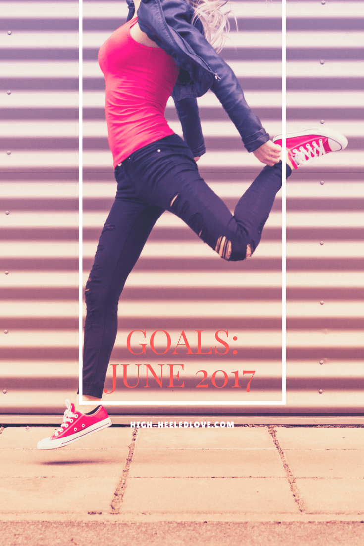 My June monthly goals and habits will ultimately move me toward accomplishing my long-term goals. What are you working toward this month?
