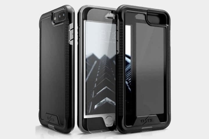 Coque noire anti choc iphone 8 plus Zizo