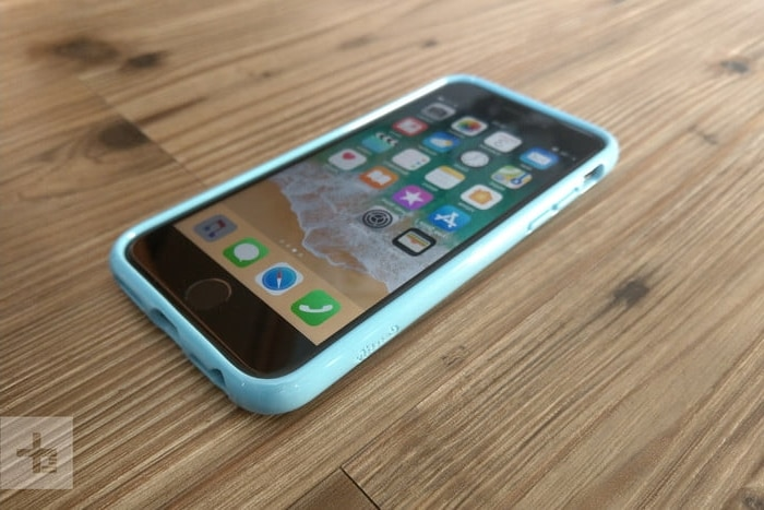 coque iphone 8 bleue