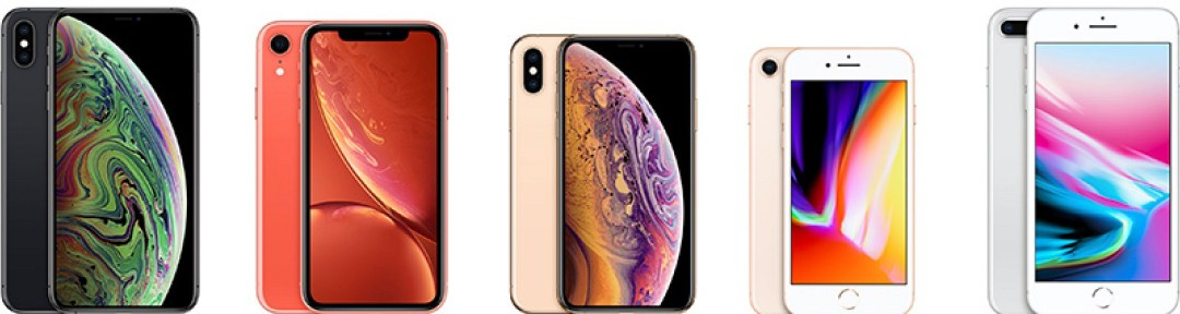 iPhone XS Max, XR, XS, 8, and 8 Plus