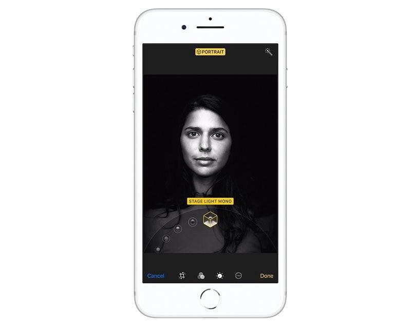 iphone 8 portrait lighting