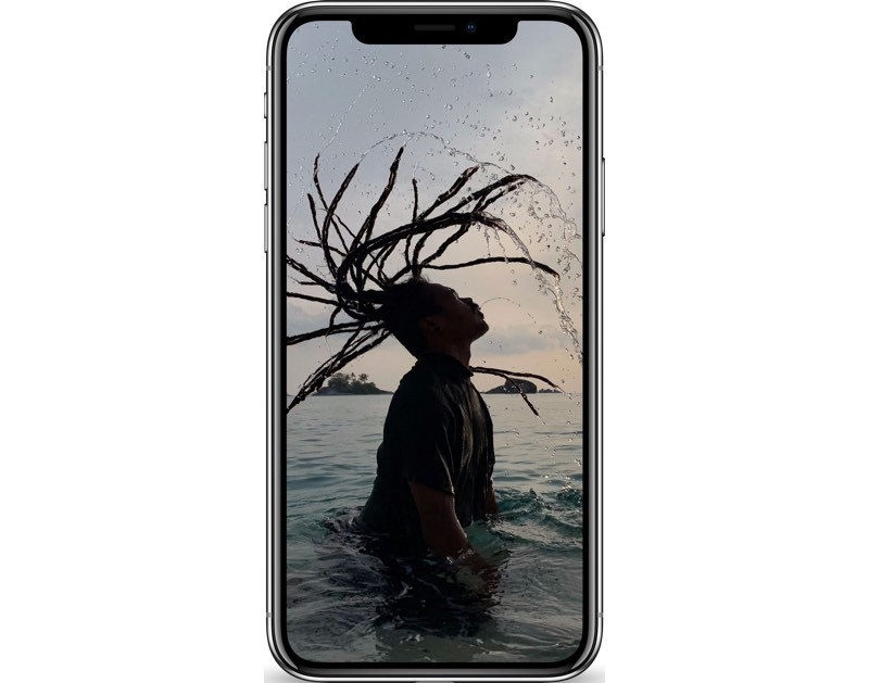 iphone xs luminosité