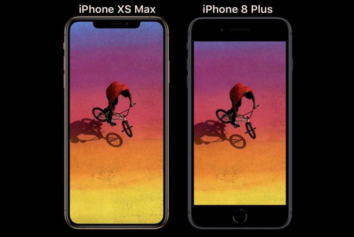 iphone xs max iphone 8 plus