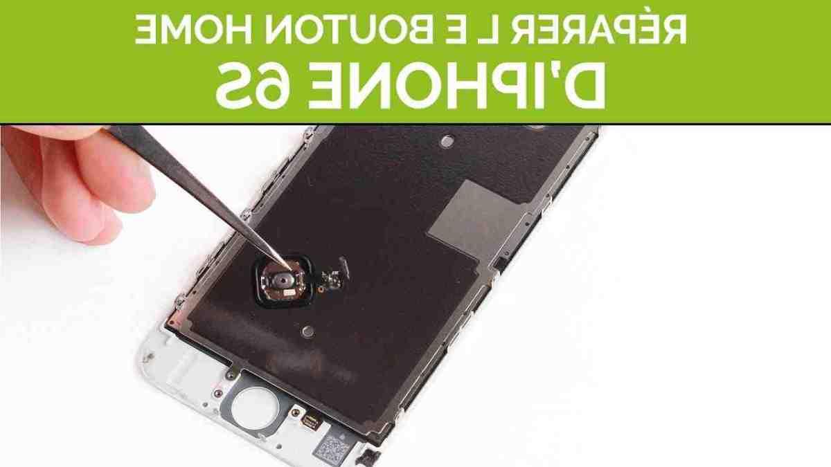 Comment enlever le bouton principal sur iPhone ?