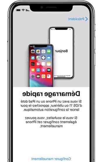 Comment mettre en marche un iPhone 5 ?