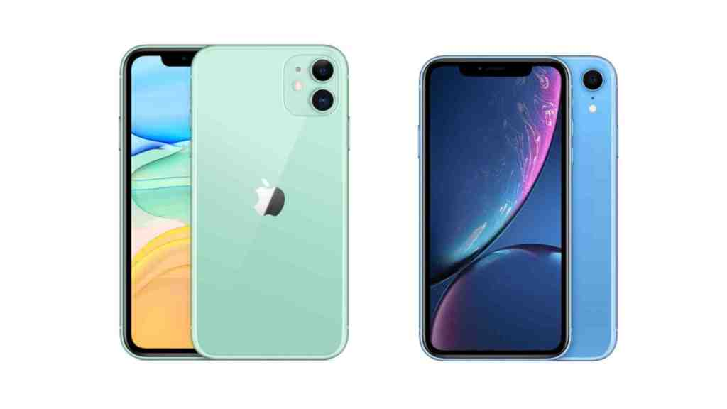 Différence Iphone xr x