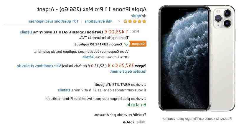 Est-ce que les AirPods sont vendus avec l'iPhone 11 ?