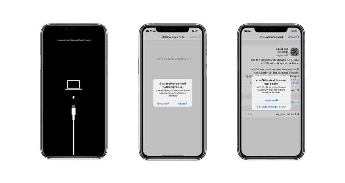 Est-ce que l'iPhone 5 peut avoir iOS 11 ?