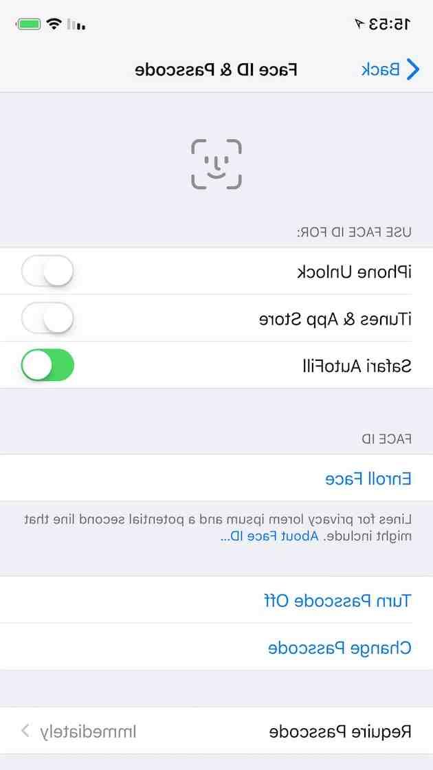 Est-ce que l'iPhone 8 à la face ID ?