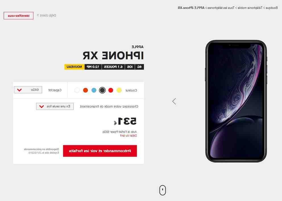 Est-ce que l'iPhone XR va sous l'eau ?