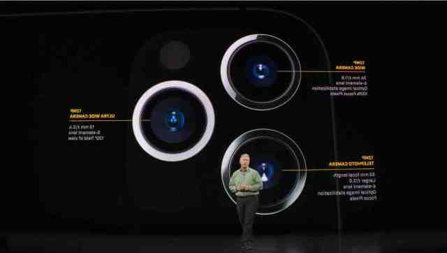 How many pixels is the iPhone 11 Pro Max camera?