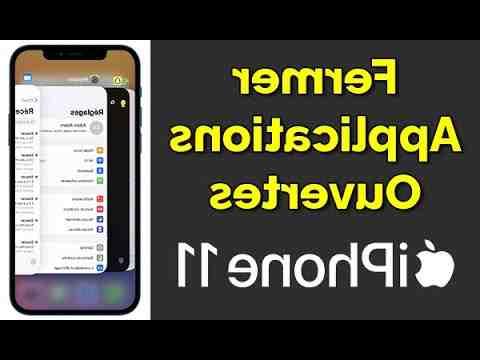 Iphone 12 mini comment fermer les applications