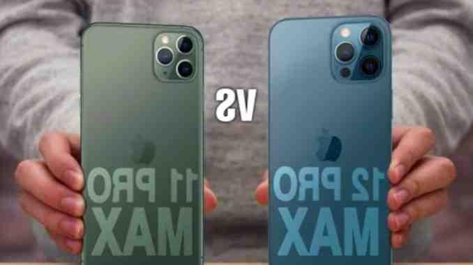Iphone 12 pro max vs iphone 12 pro