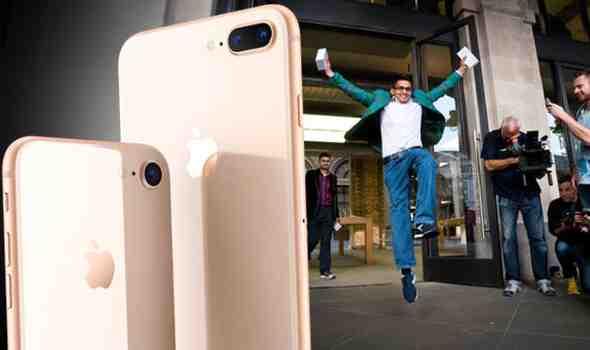Iphone 8 plus uk