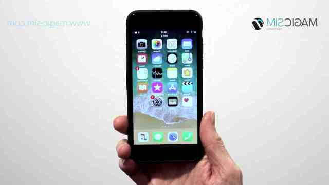 Is the iPhone 8 dual SIM?