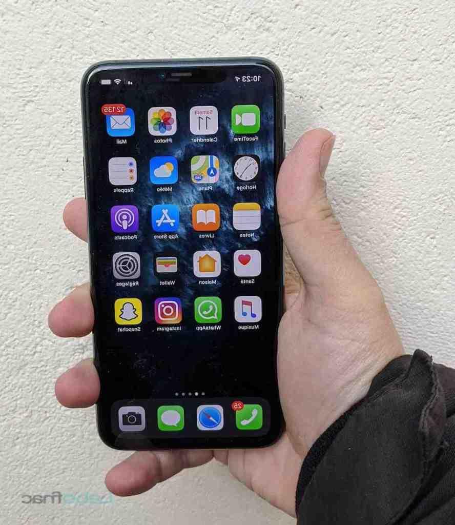 L'iphone 11 pro max est-il étanche ?