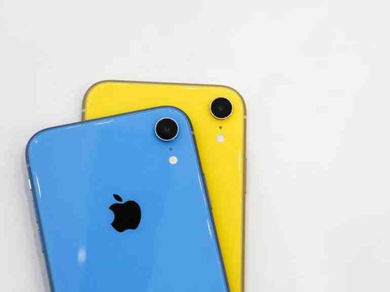 Où sort le son de l'iPhone XR ?