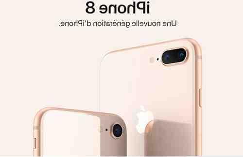 Paiement mensuel de l'Iphone 8 plus