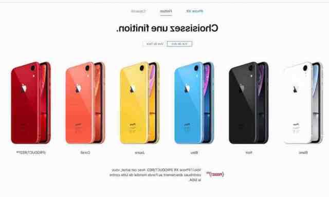 Quel est le mieux iPhone XS ou XR ?