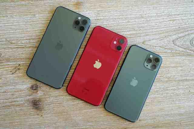 Quel est le système d'exploitation d'un téléphone iPhone 11 ?