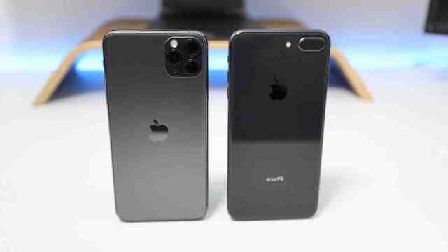 Quelle est la différence entre l'iPhone 8 et l'iPhone 11 ?