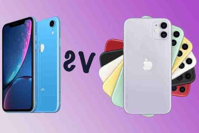 Quelle est la différence entre l'iPhone XR et l'iPhone 12 ?