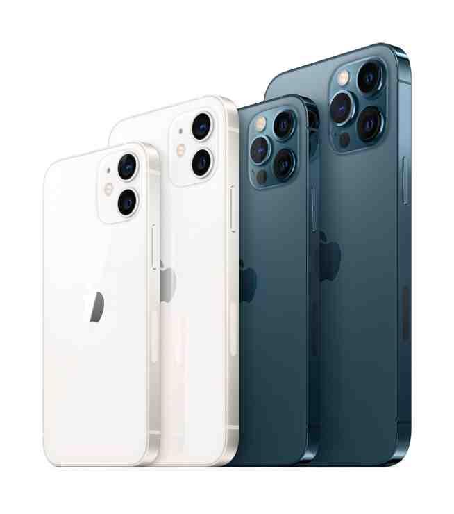 Quelle est la taille d'un iPhone 12 mini ?