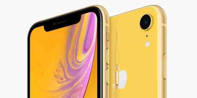 Quelle est l'autonomie de l'iPhone XR ?