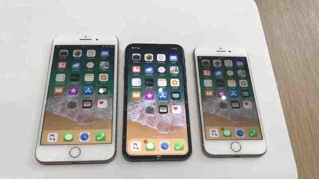 Quelle est le prix de l'iPhone 8 plus ?