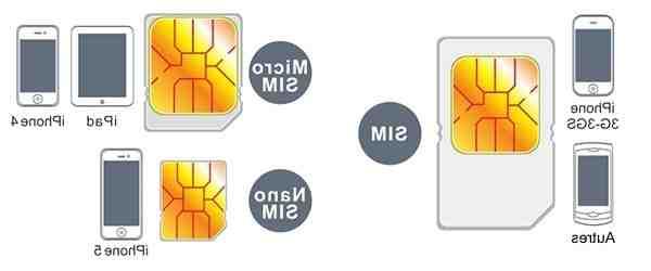 Quelle taille de carte SIM pour iPhone 8 ?