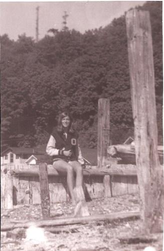 jeane on the beach at vashon