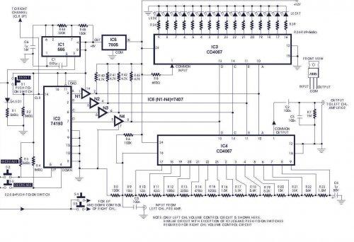 How To Build Digital Volume Control (circuit Diagram