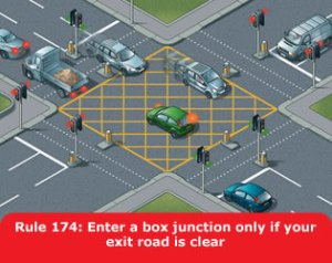Box junctions