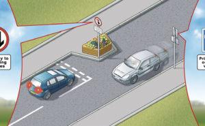 Traffic calming measures