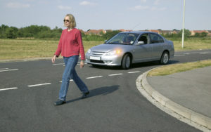 Using the road – Take extra care at road junctions