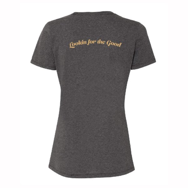 High & Rising Female Black Shirt Back