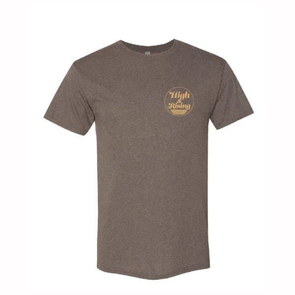 High & Rising Mens Brown Shirt