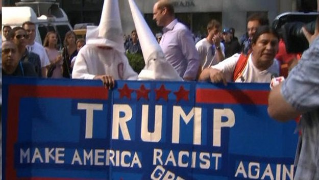 Image result for trump voters are racists