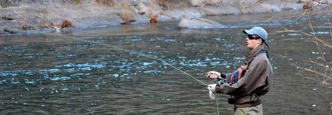 Watauga River Fly Fishing on North Carolina's Grandfather Mountain