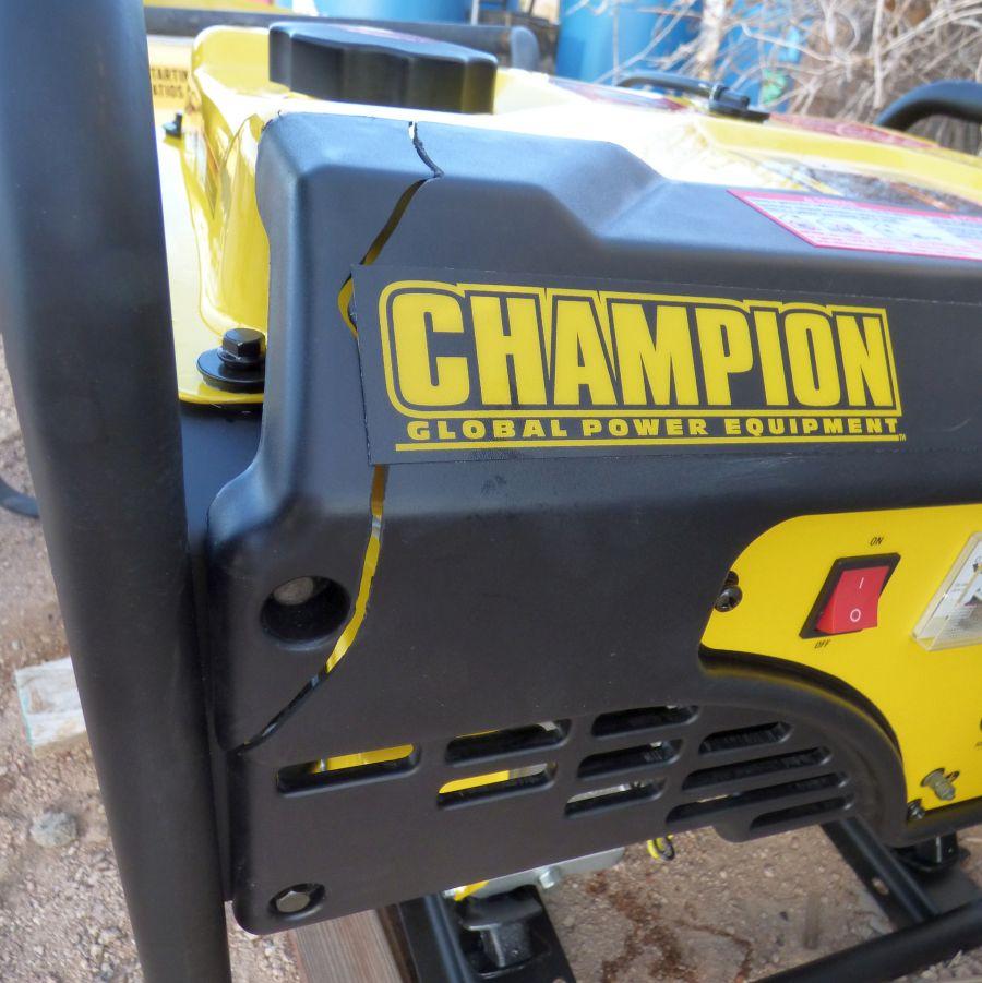 Champion Generator damage