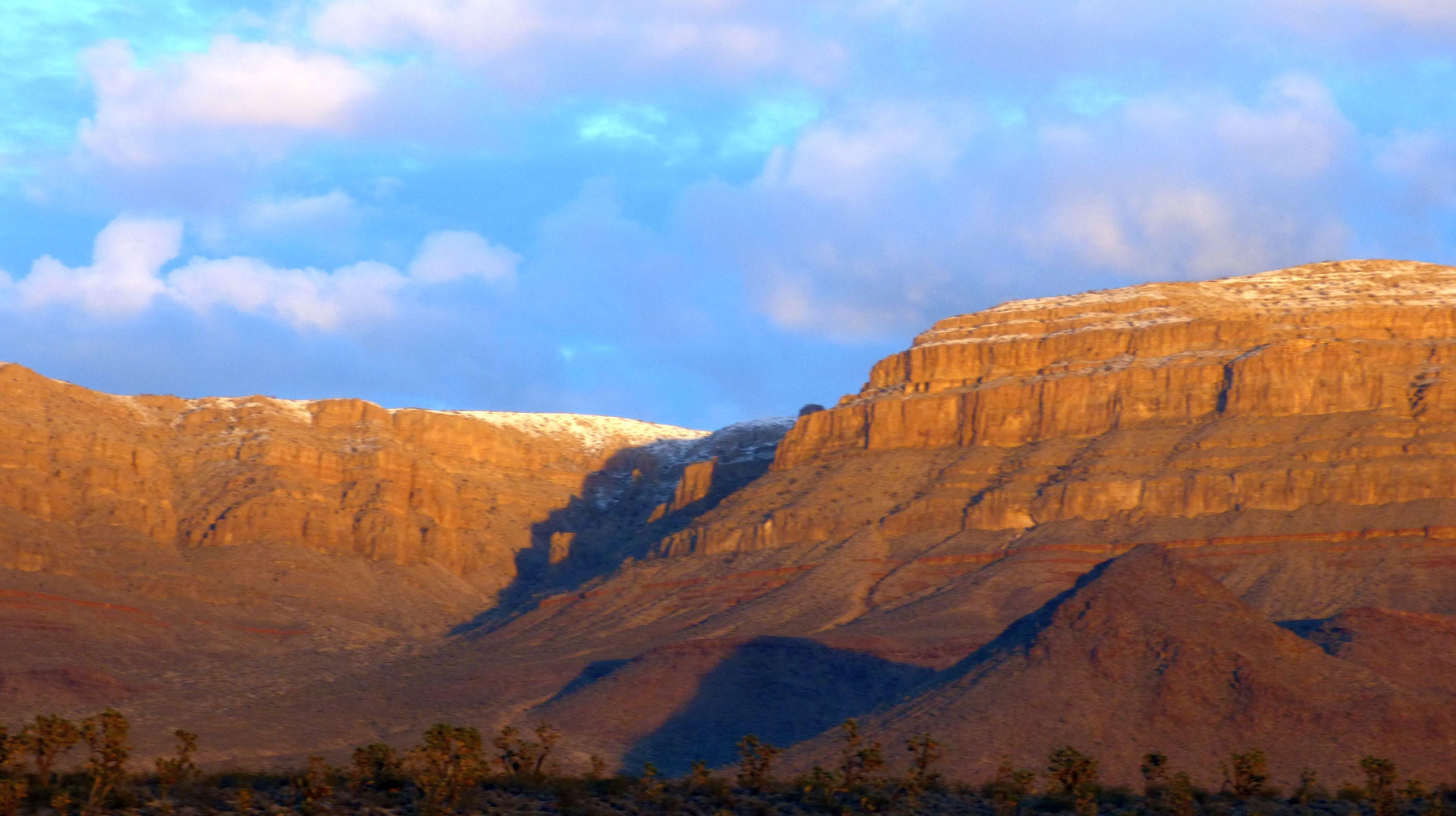 Sunset Grand Wash Cliffs