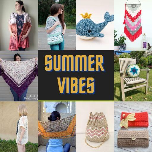 summer vibes crochet pattern bundle