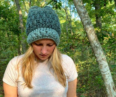 juniper berry beanie high desert yarn